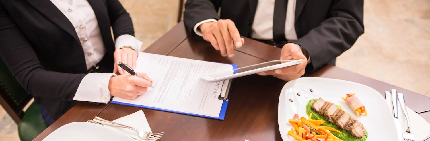 How to make your business meal a success